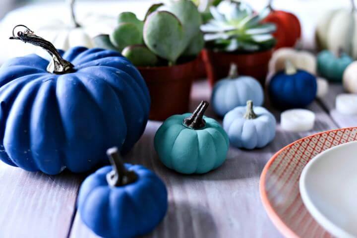 painted pumpkins decor, home decor, diy crafts