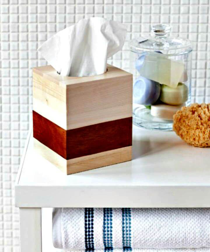 diy table decor, diy room decor, diy table tissue