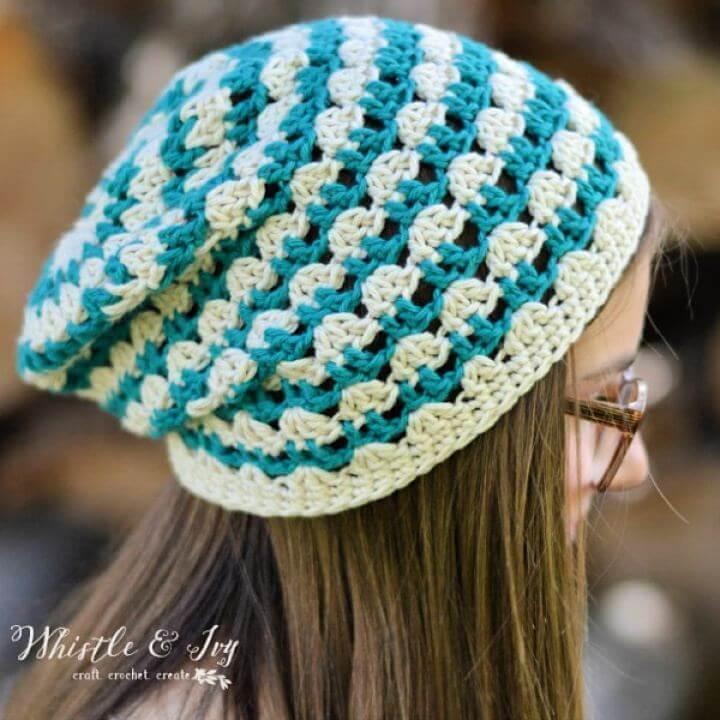crochet summer, crochet Slouchy, crochet festival summer