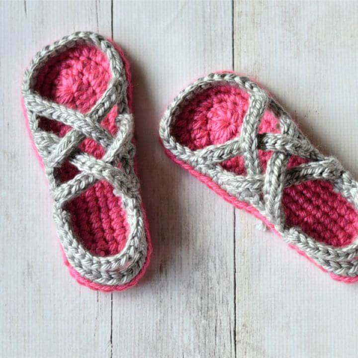women crochet, gladiator sandal idea, women shoe crochet