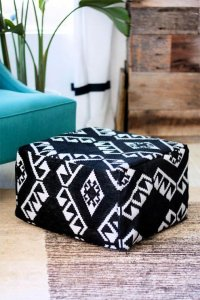 room decor, pouf decor for room, diy crafts, diy projects, diy crafts and projects