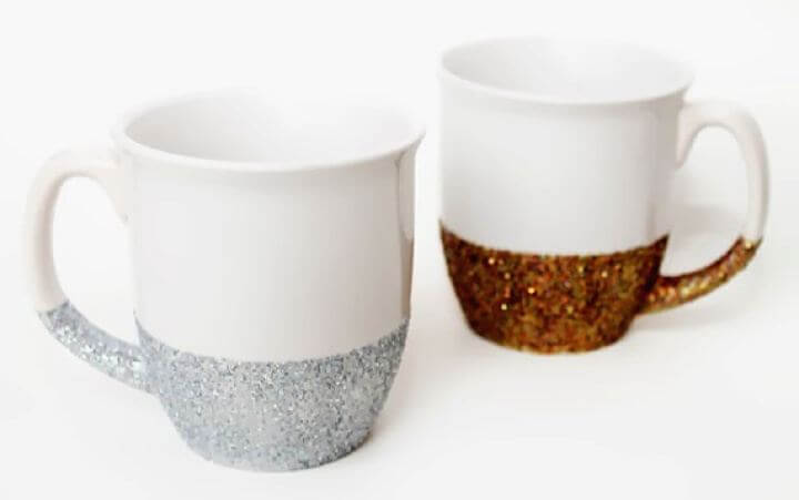 dishwasher mug ideas, glitter mug ideas,how to