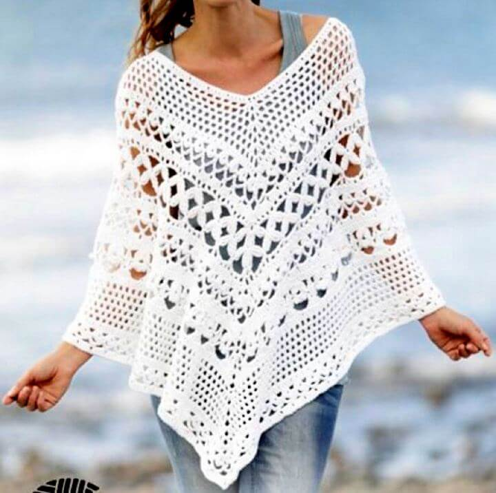 free crochet poncho, poncho crochet, crochet for women, teen girls crochet