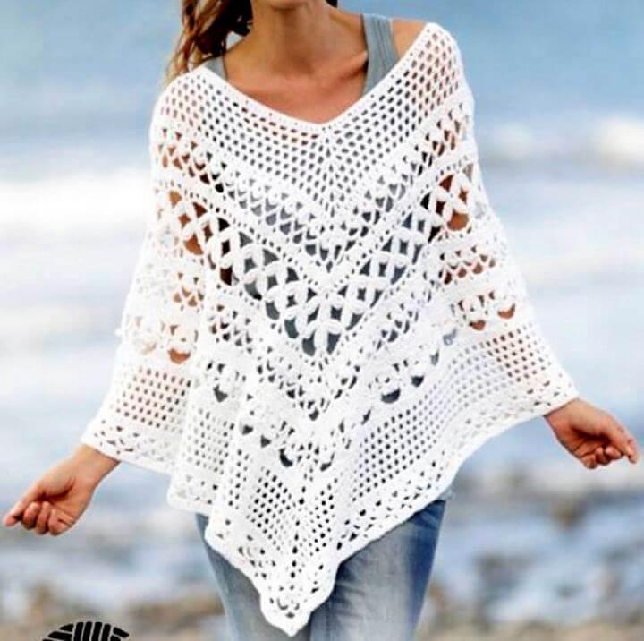 free crochet poncho, poncho crochet, crochet for women, teen girls crochet