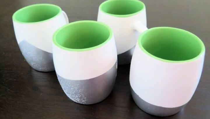 adorable mug, diy mugs, coffee mug, glitter mugs