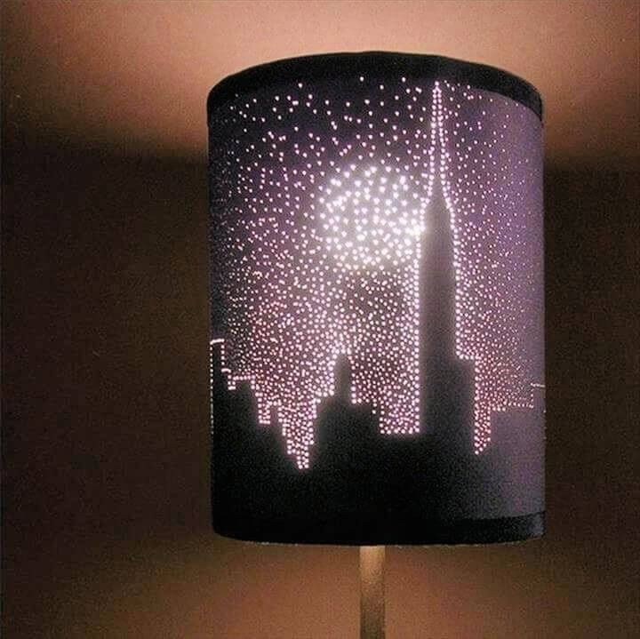 diy lampshade, diy crafts, diy ideas