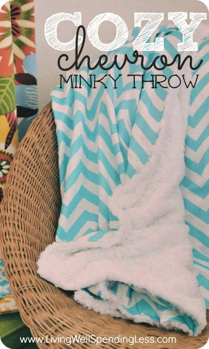 diy crafts, diy projects, diy ideas, diy cozy blanket, do it yourself
