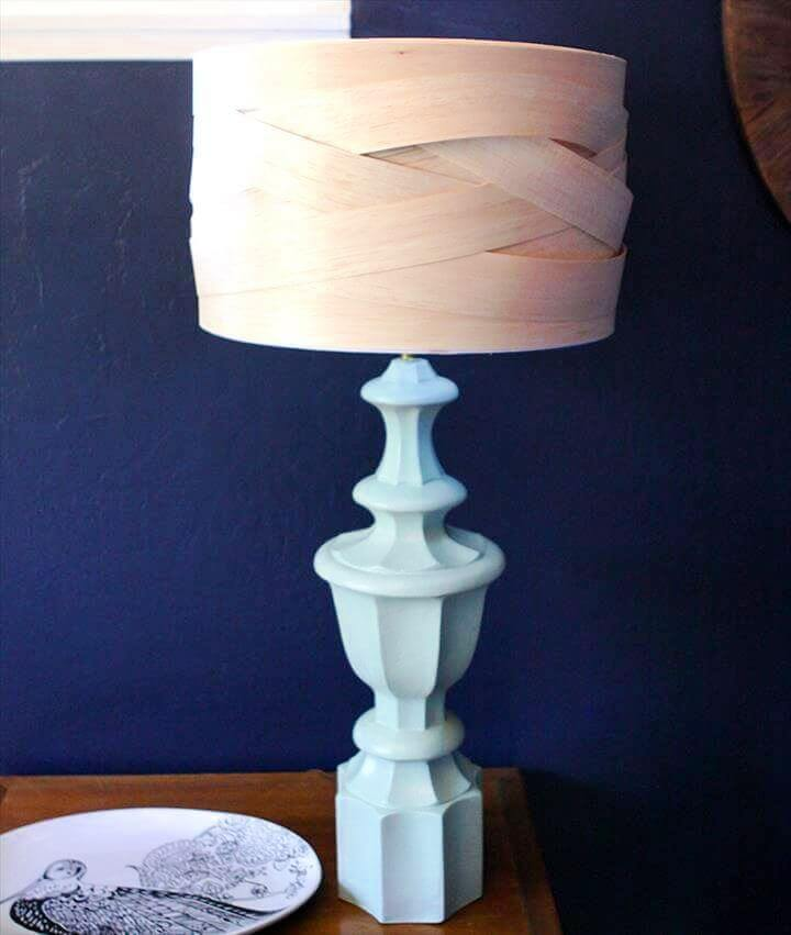 balsa wood lamps, diy lamp wooden, wooden lampshade, creative lamp