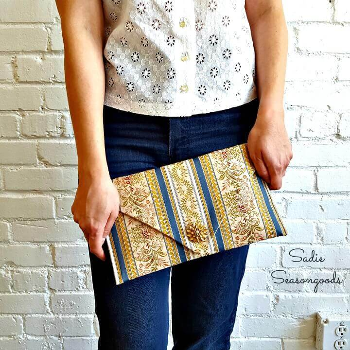enverlope clutch, cute clutch, stylish clutch, diy clutch