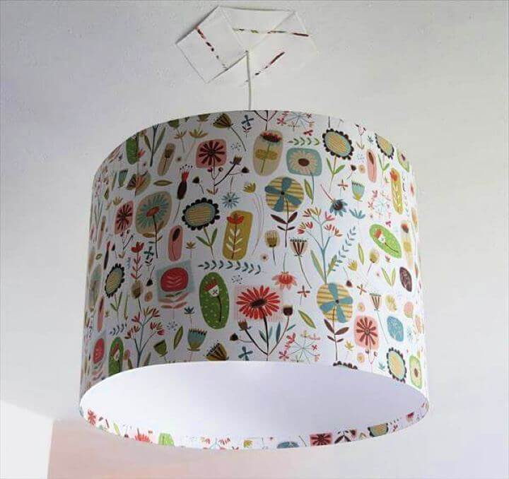 fabric lampshade, diy fabric, fabric ideas, lampshade with fabric, how to