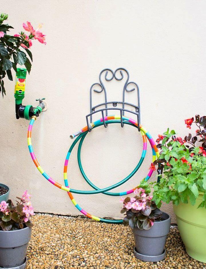 washi tape, garden decor, water point garden