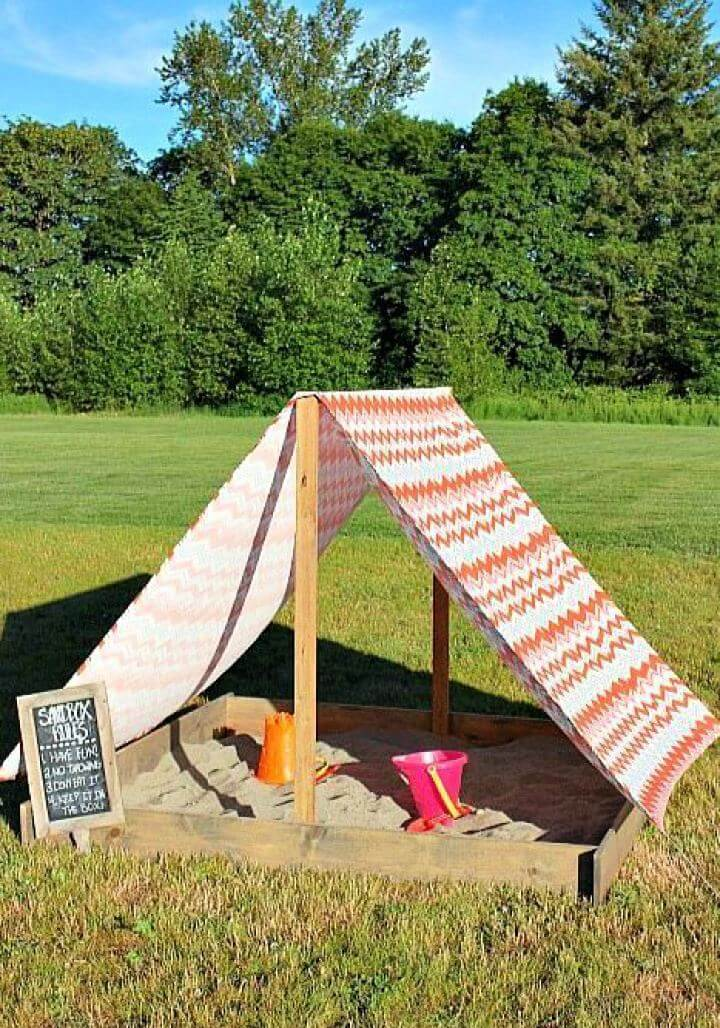 sandbox, diy gardening idea, do it yourself, diy crafts and projects
