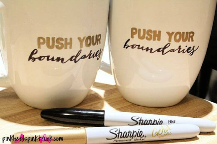 sharpie mug, diy crafts, diy projects, diy poetry painted, how to make