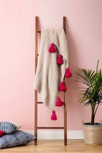 diy tassel blankets, diy projects, diy ideas, diy lovely ideas,