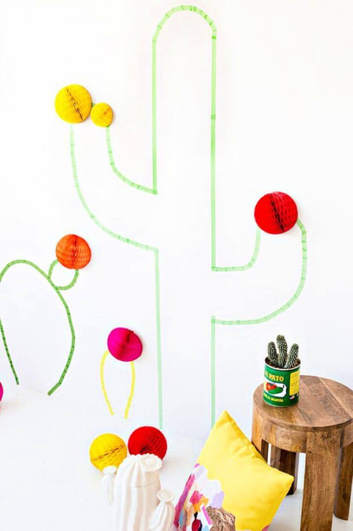 wall decor, washi tape idea, do it yourself, diy crafts and projects, how to, easy to