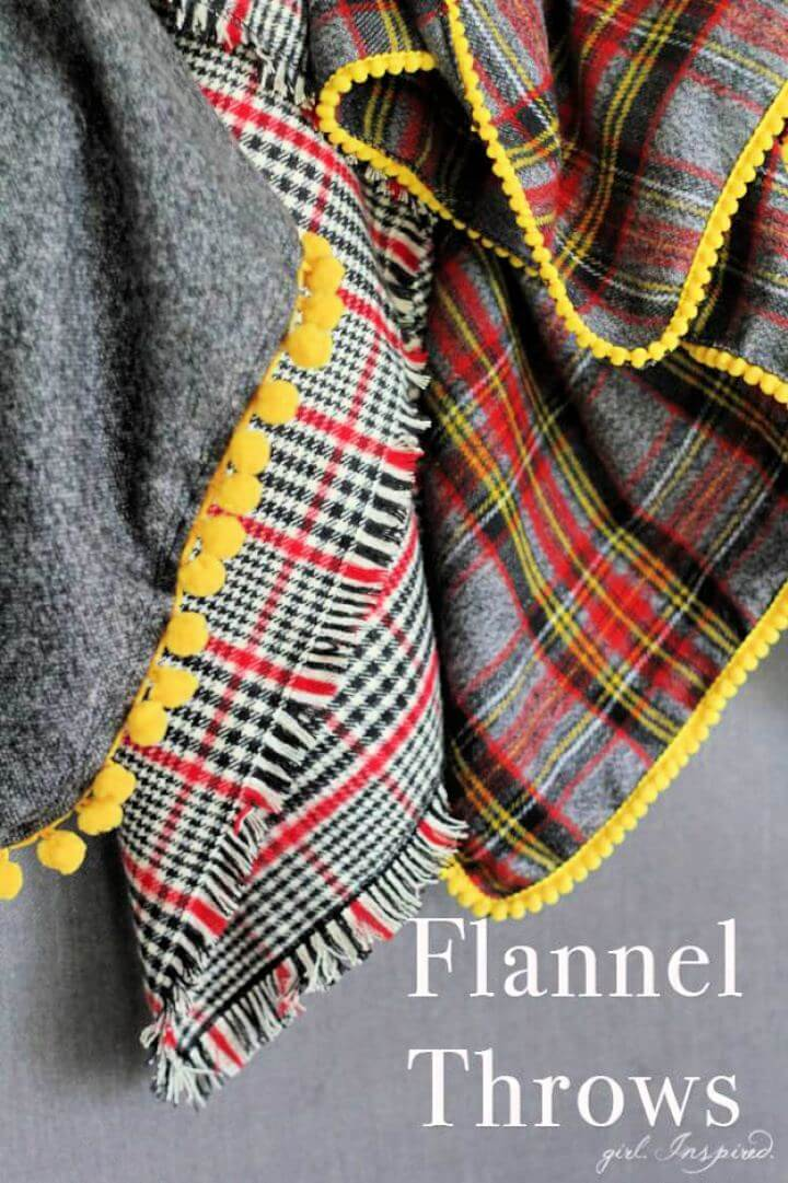 diy flannel blankets, diy room idea, diy winter idea, best for winter, diy hot blankets