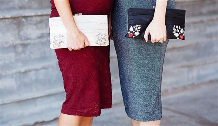 diy party day clutch, clutch day, how to, diy, crafts, diy projects