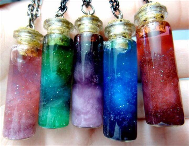 bottled nebula, diy crafts, crafts make & sell, how to