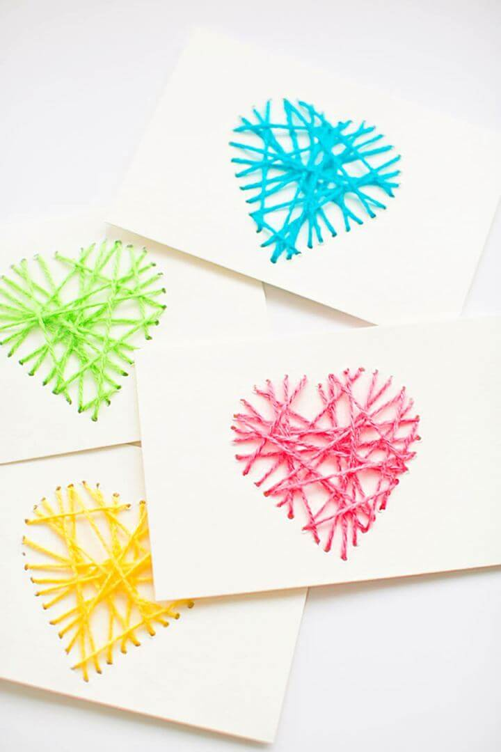 string card, mother day, usa trend, usa crafting, how to