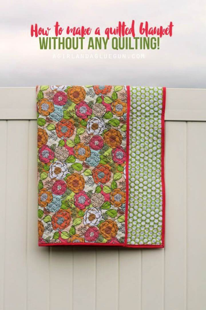 quilted blanket, knockoff blankets, diy projects, diy ideas