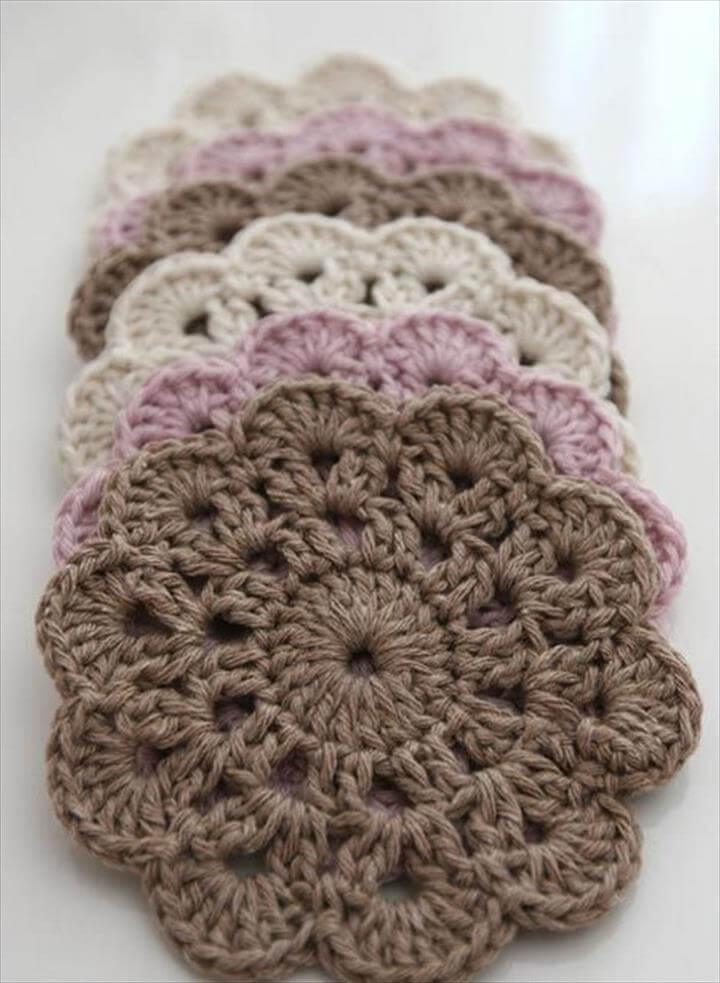 Beautiful Crochet Coasters
