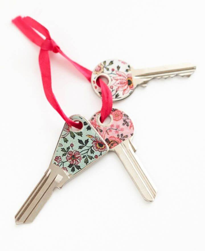 washi tape keys, find easy keys, how to, washi tape keys,