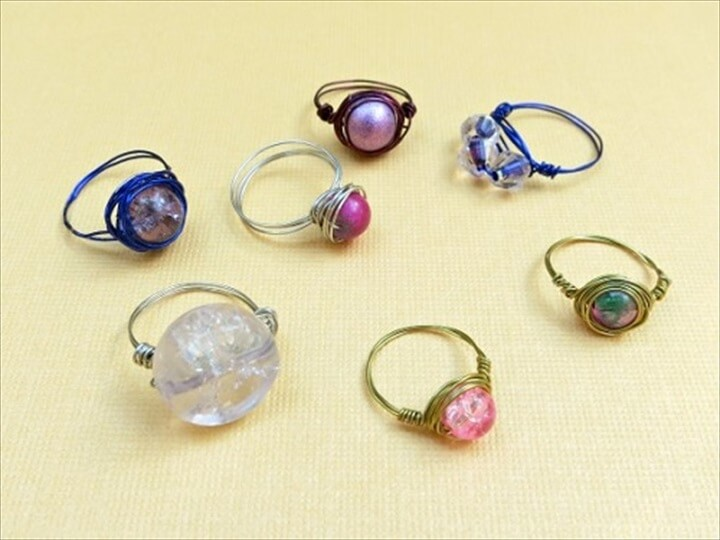 wire wrapped, bead rings, make and sell, how to, diy crafts and projects, diy ideas