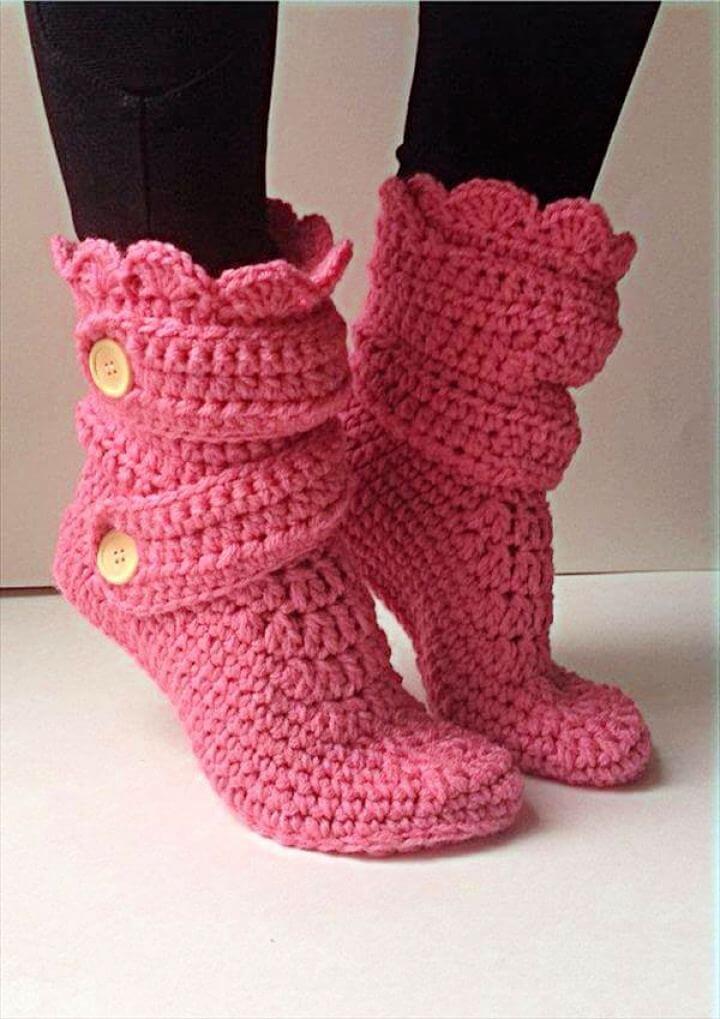 women crochet, women slippers, women