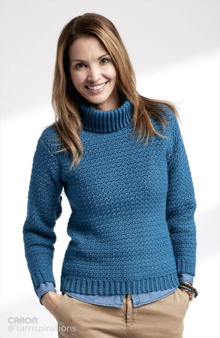 crochet sweater, pullover pattern, Crochet pattern
