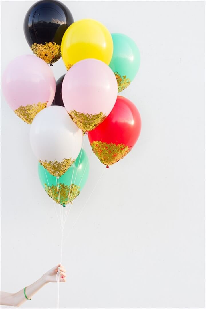 balloons new year, diy crafts, diy projects, how to, crafts