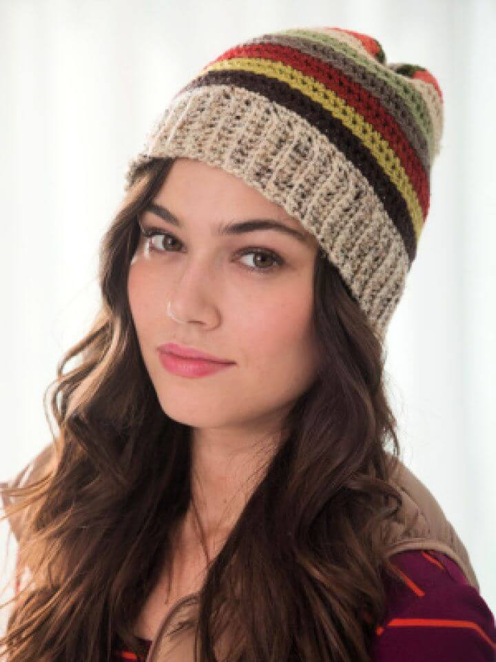 earthy crochet hat, free crochet ideas, free crochet, crochet for make and sell