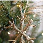 twiggy snowflake, christmas snowflake, cute idea, top ideas