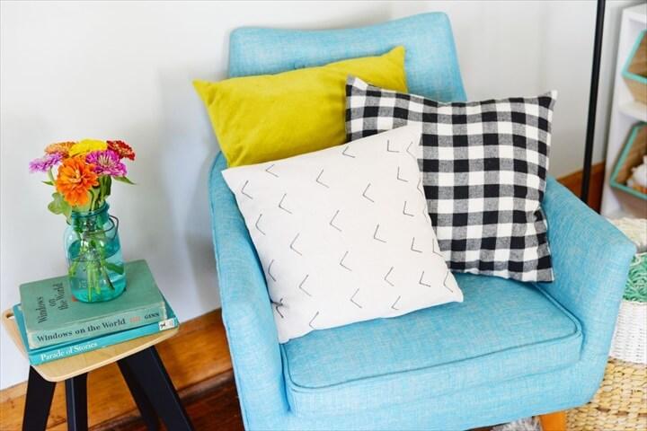 mud cloth decor, diy decor, cushion home decor