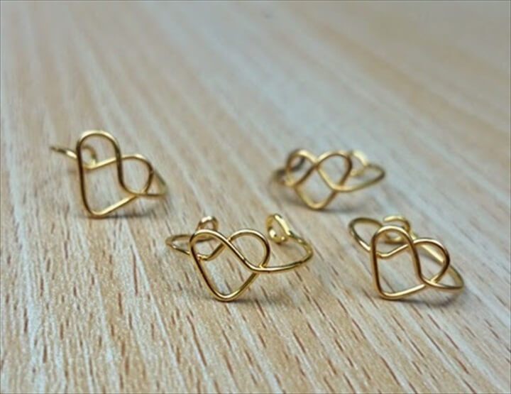 fashion tutorial, ring heart, diy tutorial, do it yourself, jewelry make and sell