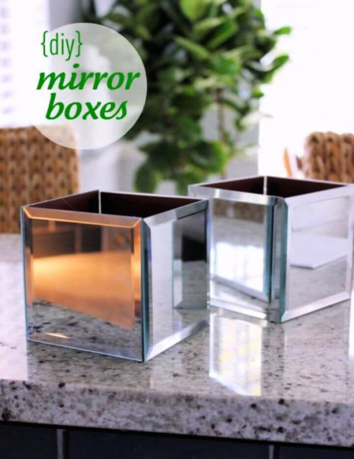mirror boxes, make and sell, nice ideas, do it yourself
