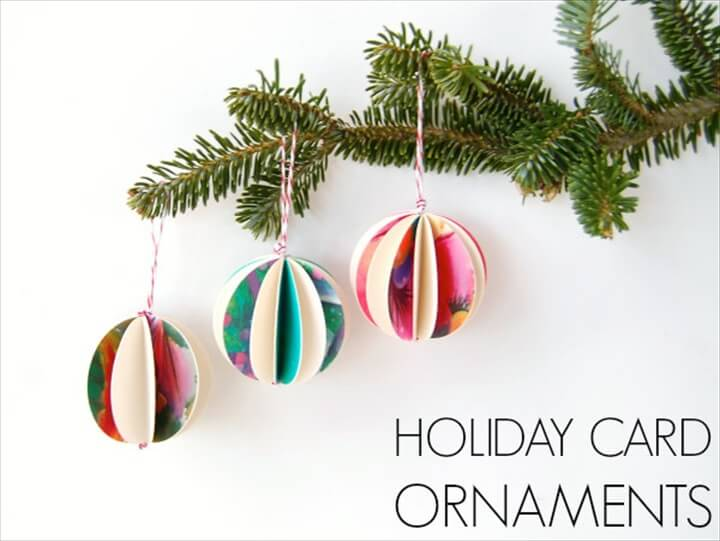 ornament cover holiday, cards crafts, diy ideas, how to