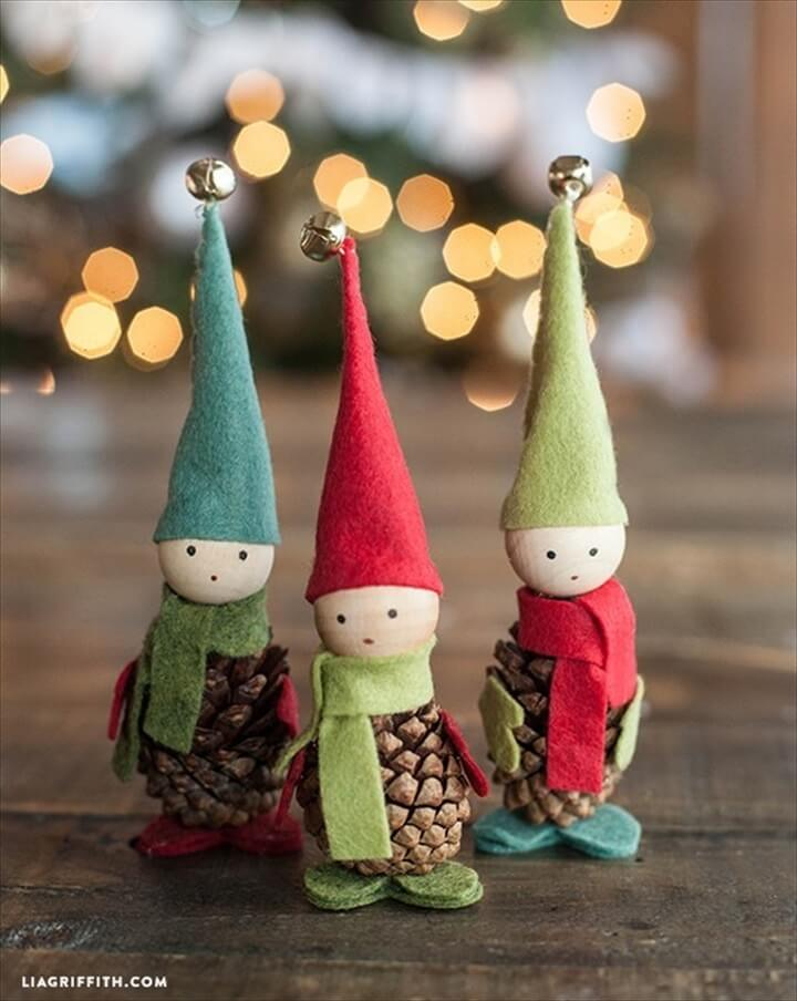 pine cone christmas, free ideas, do it yourself, top ideas for christmas