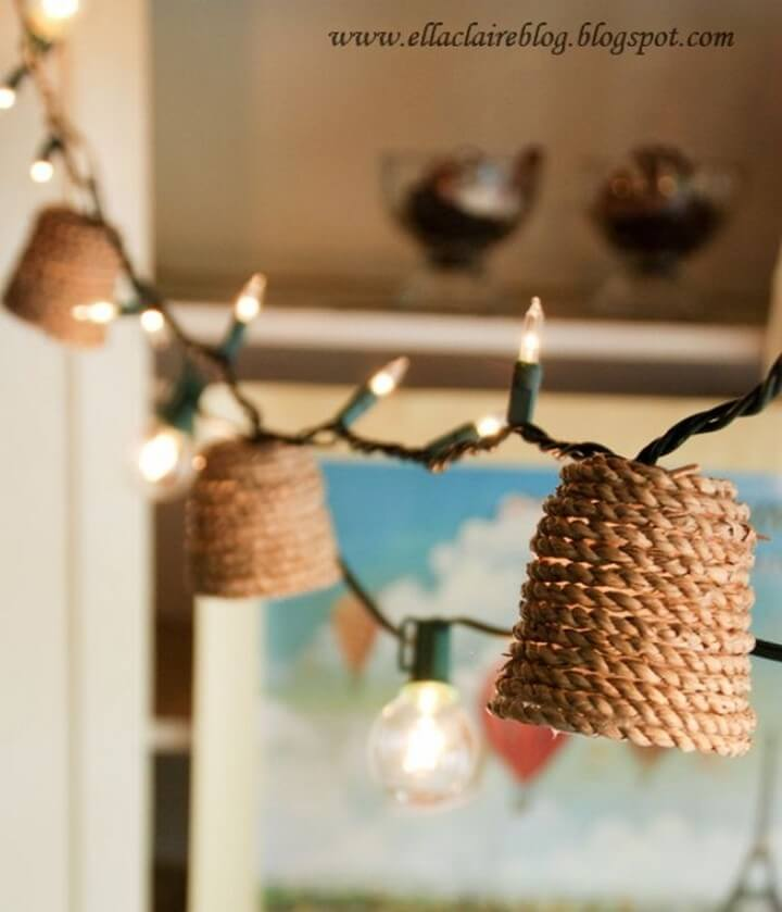 hanging ideas, lights for room decor, bedroom lights decor, hanging lamps, tutorials