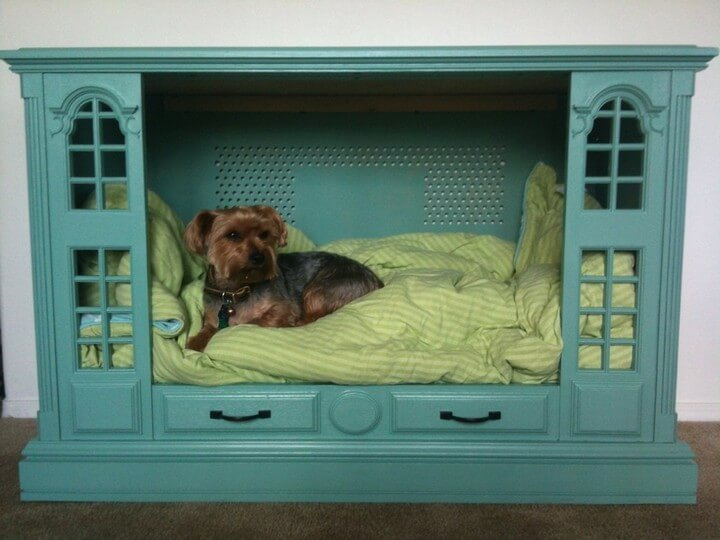 diy pallet, diy dog bed, diy ideas,
