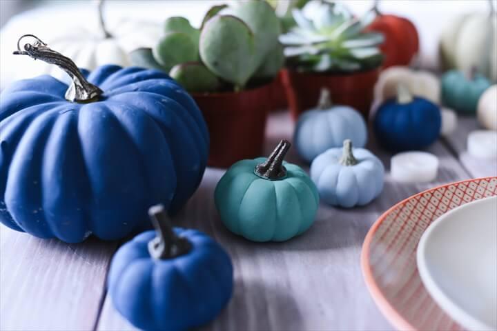 pumpkin home decor, painted decor, diy ideas