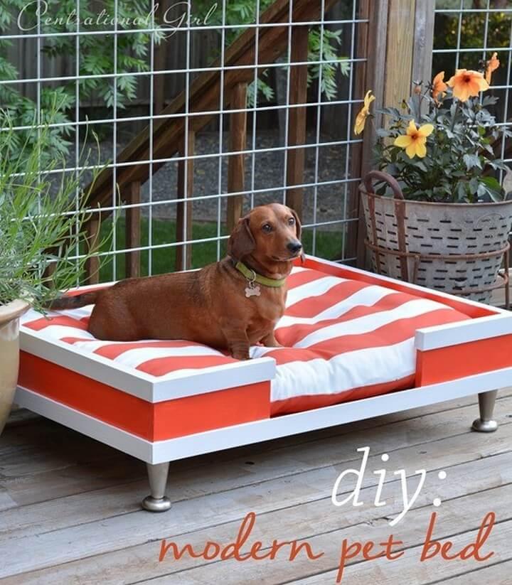 dog bed, diy bed, diy furniture, dog house,