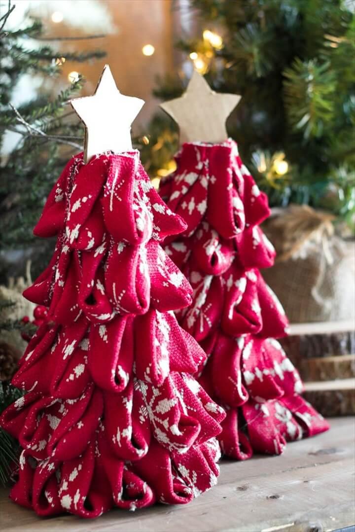 nordic sweater, christmas diy, christmas crafts, how to make