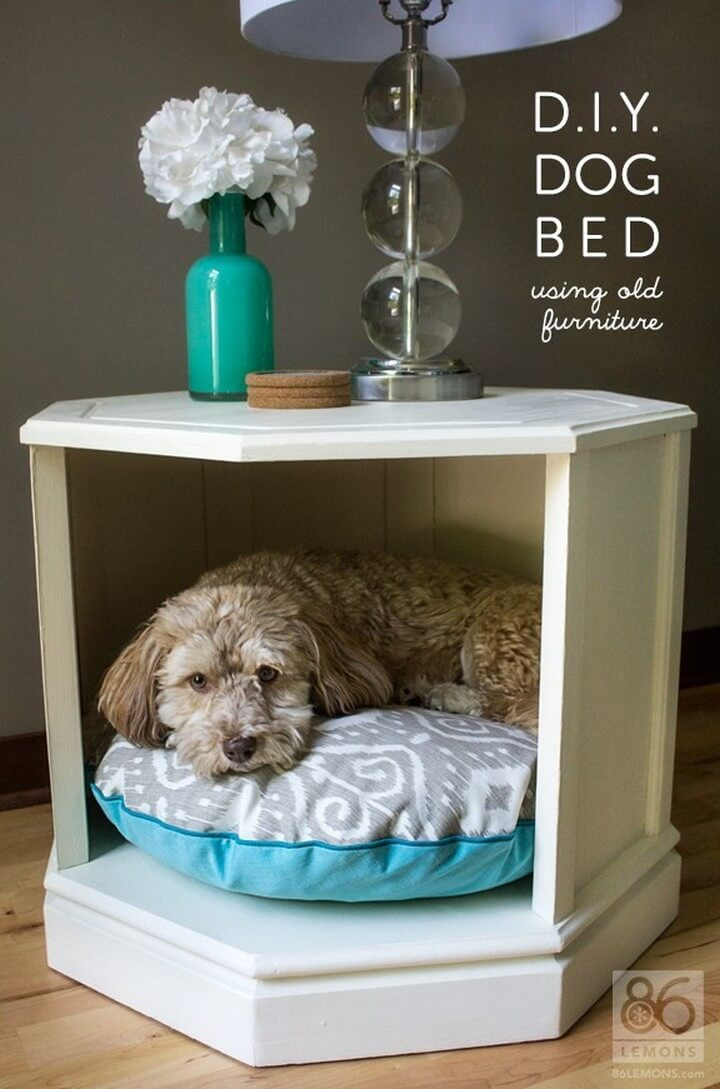 wooden dog house, wooden dog bed, how to