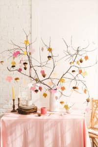 gratitude tree, home decor ideas, projects, crafting