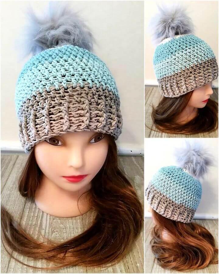 crochet pattern, hat, crochet, handmade ideas,crafting in usa, diytomake.com