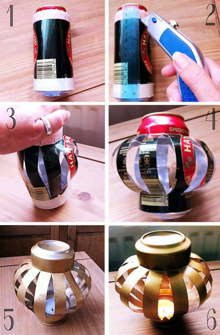 Amazing Soda Can Lanterns