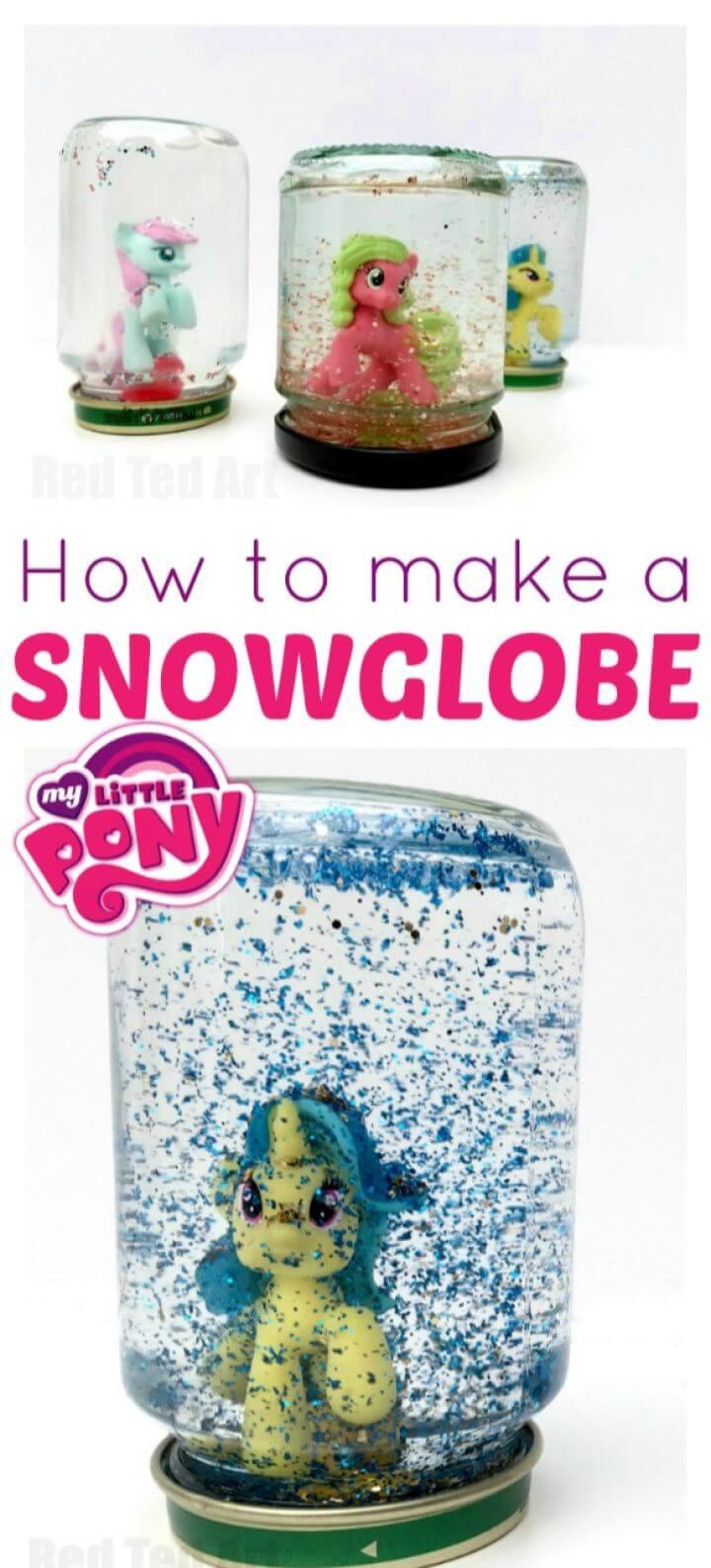 Beautiful DIY Snow Globes Tutorial