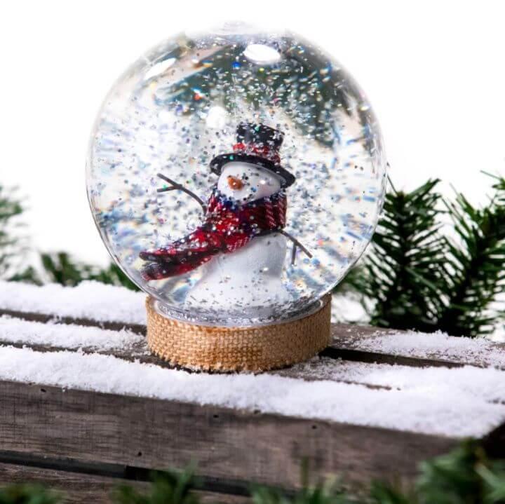 Create A DIY Homemade Snow Globe