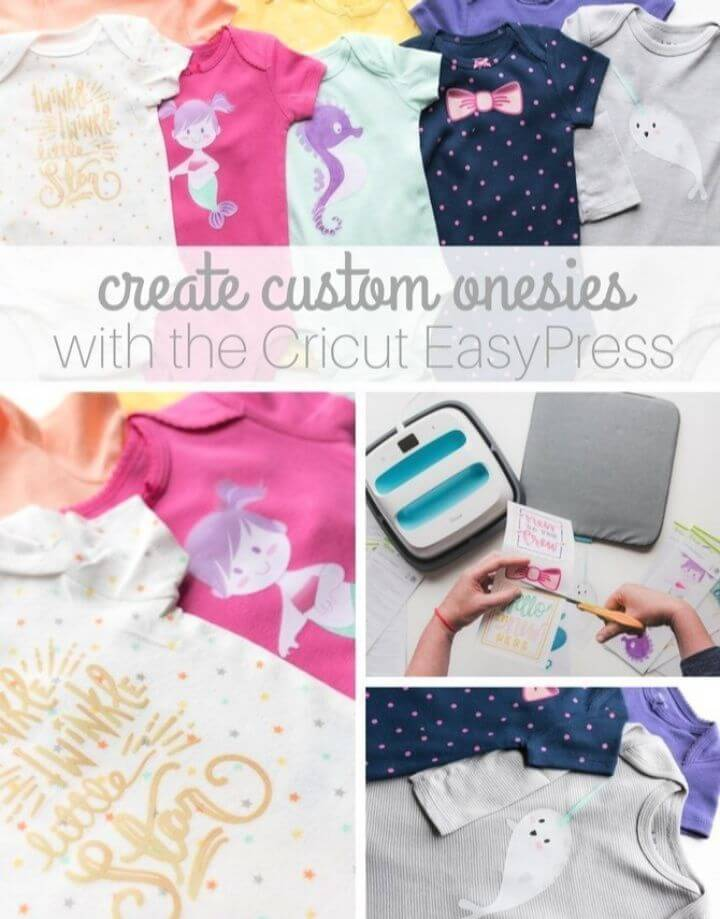 Create DIY Custom Onesies with the Cricut