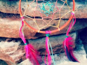 Create Sweet Summer Dreams Dreamcatcher 1